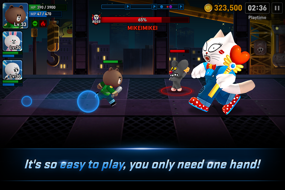 LINE FIGHTERS- screenshot