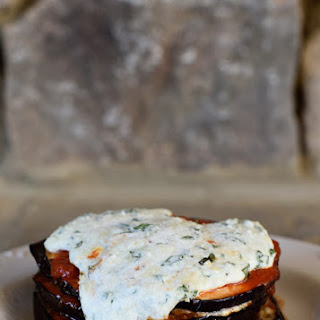 Baked Eggplant Parmesan With Ricotta Cheese Recipes.