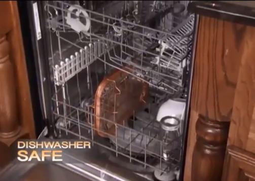 Copper Crisper dishwsher safe