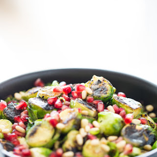 """Roasted <G Class=""""Gr_ Gr_171 Gr-Alert Gr_spell Undefined ContextualSpelling Ins-Del MultiReplace"""" Id=""""171"""" Data-Gr-Id=""""171"""">Brussels</G> Sprouts with Agave Dijon Vinaigrette Recipe"""