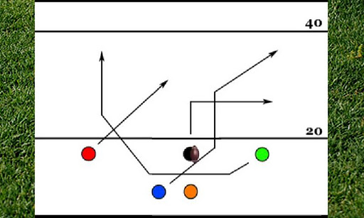 5 Man Flag Football Playbook Screenshot 3