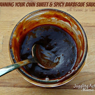 Sweet & Spicy Barbeque Sauce.