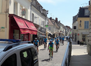 Photo: Arrivée à Rambouillet