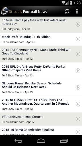 St Louis Football News