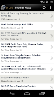 St Louis Football News- screenshot thumbnail