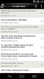 St Louis Football News - screenshot thumbnail
