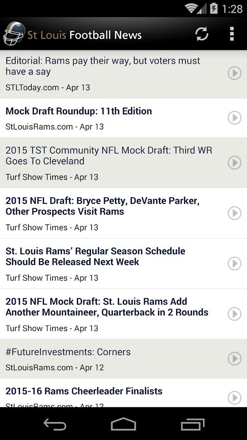 St Louis Football News - screenshot