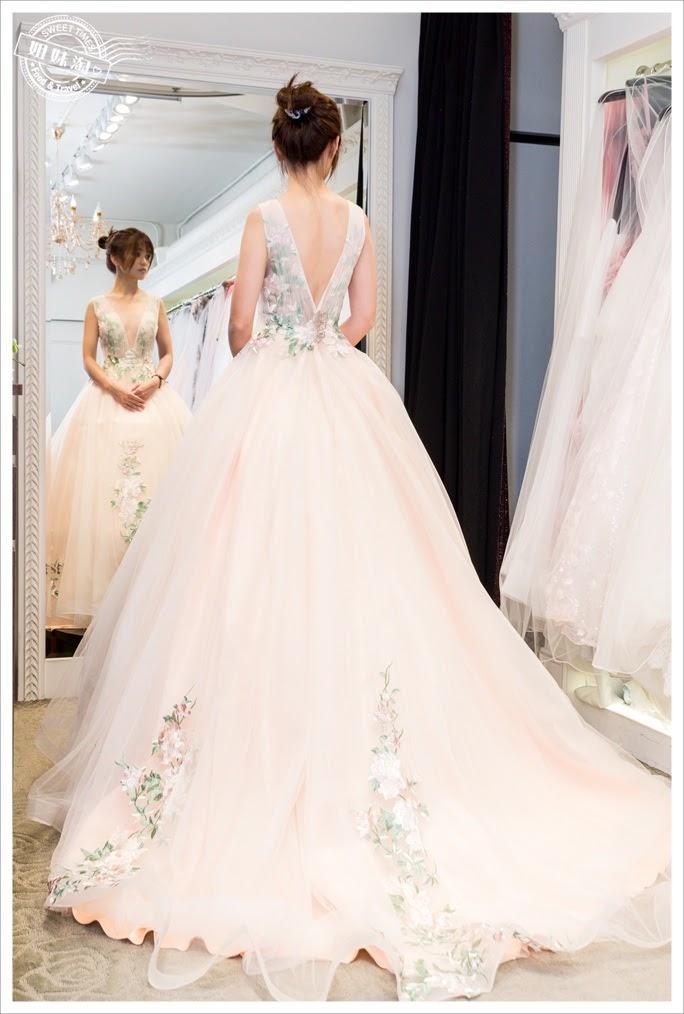 聖羅雅婚紗深V宴會服