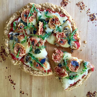 Total Miracle High-Protein Low-Carb Homemade Pizza.