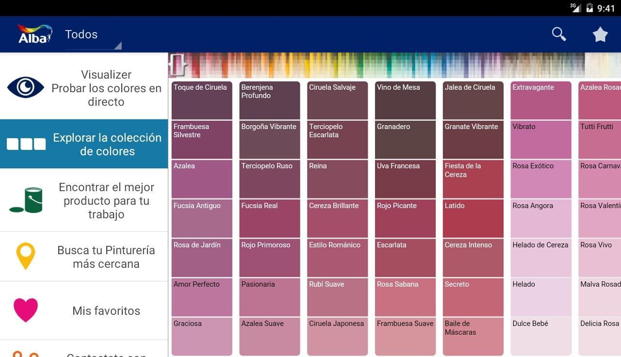 Alba visualizer aplicaciones android en google play - Aplicacion colores paredes ...