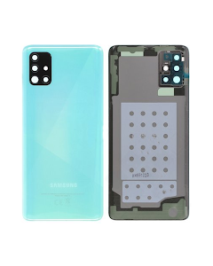 Galaxy A51 Back Cover Blue