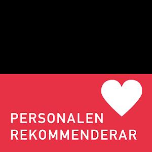 """<font color=""""red"""">Personalen Rekommenderar</font>"""