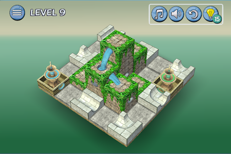 Game Flow Water Fountain 3D Puzzle APK for Windows Phone