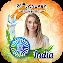 26 January Photo Frame - Republic Day Photo Maker icon