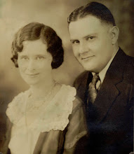 """Photo: Mary and Cletus Beggs. Their only child is Donald L. """"Don"""" Beggs, former chancellor at Southern Illinois University, Carbondale, and president emeritus of Wichita State University, http://webs.wichita.edu/?u=PCAMPBELL&p=/presidentbio/."""