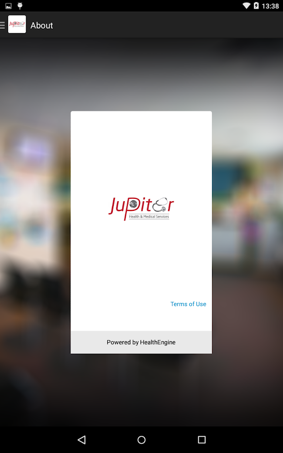 Jupiter Health- screenshot