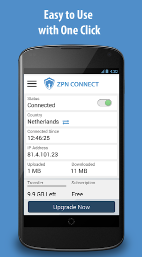 Free VPN Proxy - ZPN 5.0.1 screenshots 1