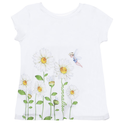 Primary image of Monnalisa Daisy Cotton T-shirt