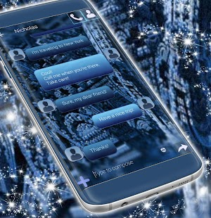 Free SMS Theme - náhled
