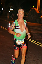 Photo: Ok, last photo for this album.  My long time friend David Gonzales took this photo at 25.5 miles into the run - a raw, candid photo . . . just before the turn onto Ali'i Drive and the most memorable moment in the life of a triathlete.
