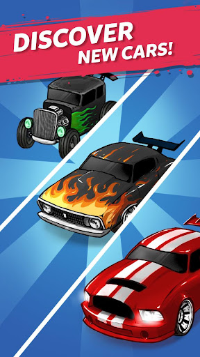 Code Triche Merge Muscle Car APK MOD screenshots 4