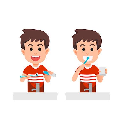 Mantener una rutina para un cepillado dental correcto
