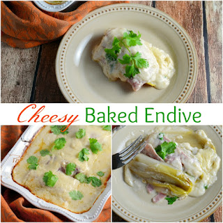 Cheesy Baked Endives & Ham