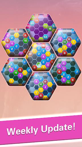 Merge  Block Puzzle - 2048 Hexa apkpoly screenshots 5