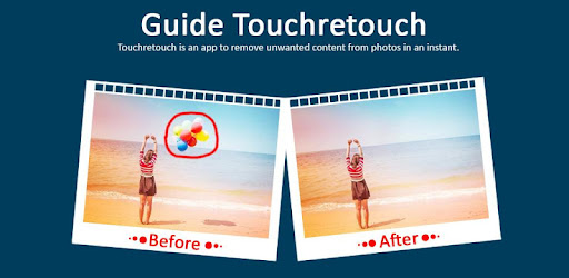 Remove Useless Content for Touch-Retouch Guide for PC