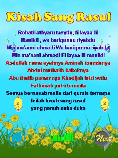 Download lagu kisah sang rasul habib syech.