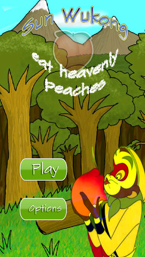 Sun Wukong eat peaches