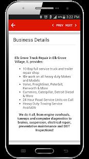 Find Truck Service & Stops - screenshot thumbnail