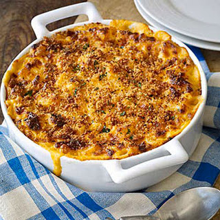 Baked Macaroni and Cheese.