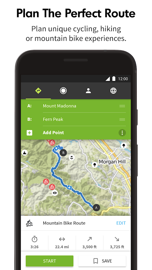 Komoot — Cycling & Hiking Maps- screenshot
