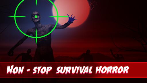 New Zombie Shooting 2020: Zombie Survival Shooter  captures d'écran 1