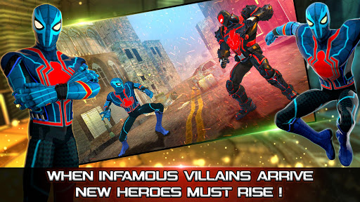 Superhero Fighting Games 3D - War of Infinity Gods 1.0 screenshots 9