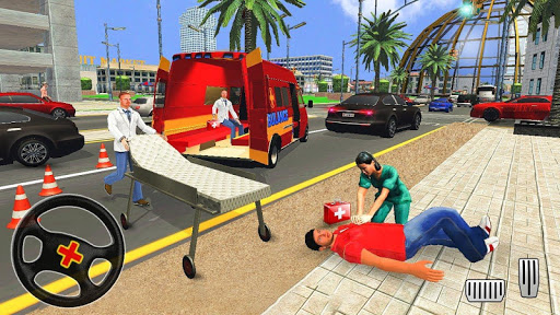 City Ambulance Rescue Simulator Games 🚑 🚁 ss2