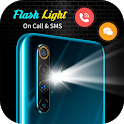 Flashlight on Call and SMS- Flash Alert icon