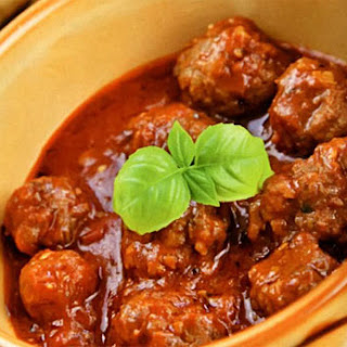 Pork And Beef Meatballs