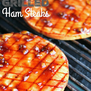 Sweet Teriyaki Grilled Ham Steaks Recipe