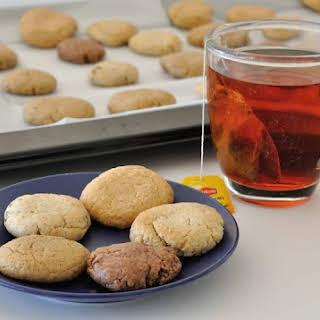 Healthy Tahini/Almond/Peanut Butter Cookies (Vegan + Gluten Free).