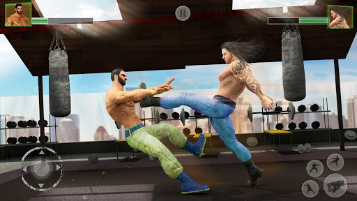 Bodybuilder Fighting Club 2019: Wrestling Games 1.1.5 screenshots 1