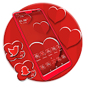 Valentine Red Heart Launcher Theme icon