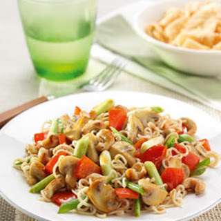 Vegetarisch Five Spice woknoedels