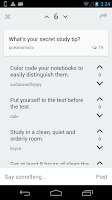 Screenshot of Study Flashcards - Learn, Chat