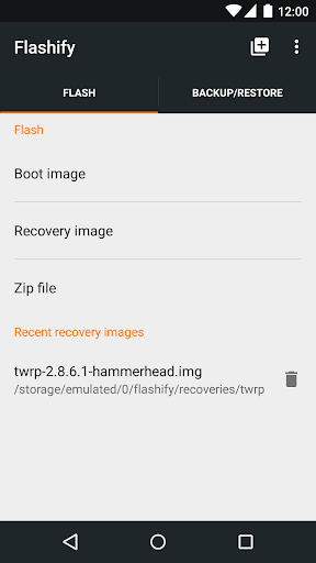 Flashify (for root users) Apk 1