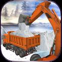 Snow Plow Rescue Excavator icon