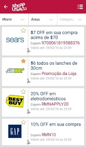 ShoppUSA: Cupons & Descontos screenshot 2