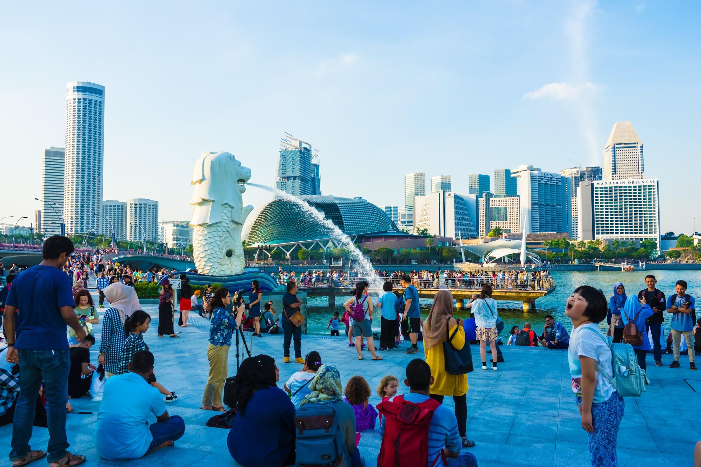 シンガポール マーライオン・パーク3