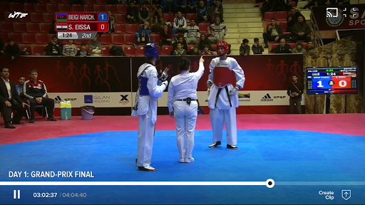 world taekwondo screenshot 1